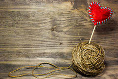 Катушки веревочки джута Стоковая Фотография RF
