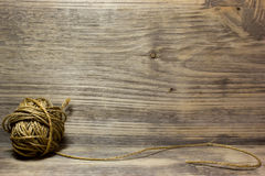 Катушки веревочки джута Стоковое фото RF