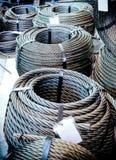 Катушки стального кабеля Стоковое фото RF