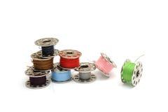 Катушкы швейной машины Стоковая Фотография RF
