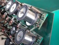 Катышка стального провода делая машину Стоковое фото RF
