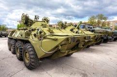 Катят armored корабль спасения ARV-K основанный на BTR-80 стоковые изображения rf