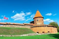Каунас, Литва - 18-ое сентября 2015: Старая крепость Стоковые Фото
