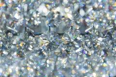 Каустик Refection света драгоценности диаманта кристаллического отражает стоковое изображение