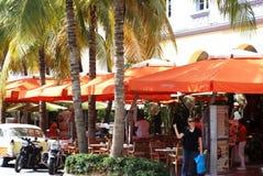 Кафа на прокладке в Майами, Флориде стоковое фото rf