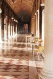 Кафе в аркаде Стоковое Изображение