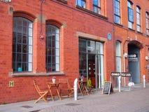Кафе в Бирмингеме, Англии Стоковые Фотографии RF