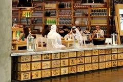 Кафе в Дубай Стоковые Фото