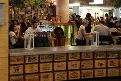 Кафе в Дубай Стоковое Изображение