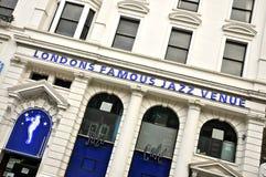 Кафе джаза, Лондон Стоковое Изображение RF