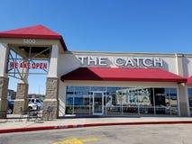 Кафе морепродуктов задвижка в Killeen, Техасе стоковое изображение