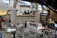 Кафе музея RAF Cosford Стоковое Фото