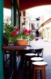 кафе напольное Стоковое фото RF