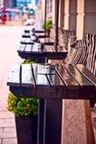 кафе напольное Стоковое Фото