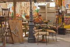 кафе напольное Стоковые Фото