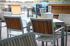кафе напольное Стоковая Фотография RF