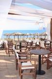 Кафе на пляже Стоковое Фото
