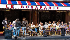 Кафе Парижа Стоковые Фото