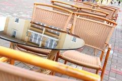 кафе парижское Стоковые Изображения