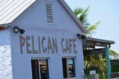Кафе пеликана Стоковое Изображение RF