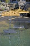 кафе пляжа Стоковое Изображение RF
