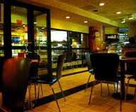 кафе подземное Стоковые Изображения