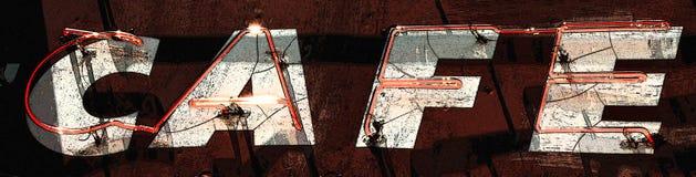 Кафе рекламы Стоковая Фотография RF
