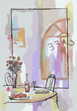 Кафе Стоковые Изображения