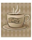 кафе иллюстрация вектора