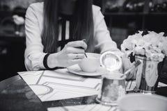 Кафе Стоковые Изображения RF
