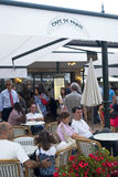 кафе carlo de monte paris Стоковое Фото