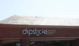 Кафе Gelato ремесленника Dipsticle, Cordova, TN Стоковое Фото