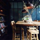 Кафе Lapin Касы Стоковое фото RF