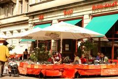 Кафе Tasso в berlin Стоковое Фото