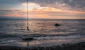 Качание веревочки в Ucluelet Стоковые Изображения RF