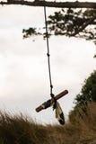 Качание веревочки Стоковое Фото