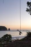 Качание веревочки Стоковая Фотография