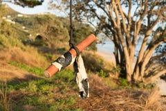 Качание веревочки Стоковые Фотографии RF