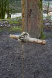 Качание веревочки Стоковые Изображения RF