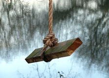 Качание веревочки Стоковые Фото