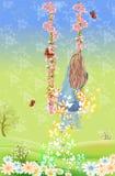 Качание весны Стоковое Фото