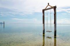 Качание в океане - изображение запаса Стоковые Изображения
