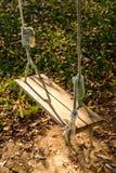 Качание в осени Стоковые Фото