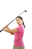 качание гольфа Стоковая Фотография