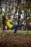 качание девушки милое предназначенное для подростков Стоковые Изображения RF