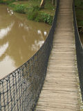 качание моста Стоковые Изображения RF