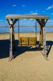 качание пляжа тропическое Стоковая Фотография