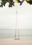 Качание пляжа Стоковое Изображение