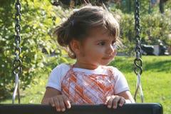 качание ребёнка Стоковое Фото