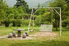 качание сада Стоковое фото RF